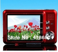 "NEW 12.0 MP 2.7""TFT LCD DIGITAL CAMERA 8 x digital zoom, Anti-shake, rechargeable lithium battery, camera bag, free shipping"