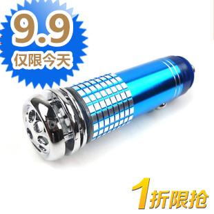 Car air purifier car oxygen bar car negative ion generator activated carbon(China (Mainland))