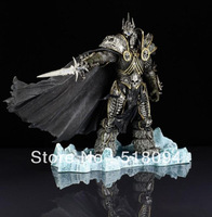 "DC Unlimited WOW World of Warcraft SERIES DC7 THE LICH KING ARTHAS MENETHIL 7"" Collectable Game Toys Model Doll"