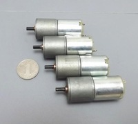 25mm gear motor 370 dc gear motor intelligent barrowload robot 9v28 12v40  2pcs/lot  free  shipping