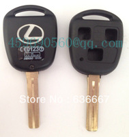 TOY48P-3B TOYOTA KEY SHELL, 3 BUTTONS HOLE, WITH LEXUS LOGO SHORT BLADE