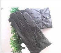 Winter warm high-grade 100% male sheep leather gloves manufacturers selling very low price free shipping for 3