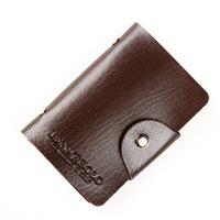 Summer male small card holder ultra-thin men's coin purse small wallet bank card holder card case testificate set