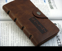 Vintage long design wallet male wallet cowhide wallet casual wallet new arrival