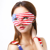 China national flag mask kinds of national flag mask ball child mask