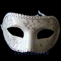Halloween masquerade party half face mask mask cos mask multicolor