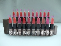 FREE SHIPPING MAKEUP NEW LIPSTICK ROUGE A LEVRES LIP STICK 20 colors choose(12 pcs / lot)