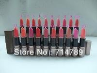 FREE SHIPPING MAKEUP NEW LIPSTICK ROUGE A LEVRES LIP STICK 20 colors choose(12 pcs / lot)