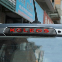 [RENAULT] Koleos Brake Lamp Sticker / MEGANE Badge / Scenic Fluence Laguna CLIO Logan Duster [3D Stickers] [Q'S] 05059