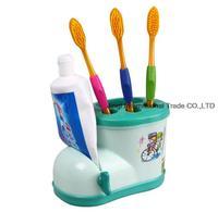Storage Boots Toothbrush Holder Storage Block ( with toothpaste squeezer )