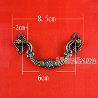 Plastic imitation antique eight star small handle special wooden handle accessories European cabinet drawer handle
