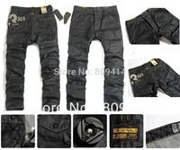 2014 Brand New Fashion Jeans Black Men's Pants, Hot sale G-s Denim Trousers,Size 28-38,Gs8204 Free Shipping