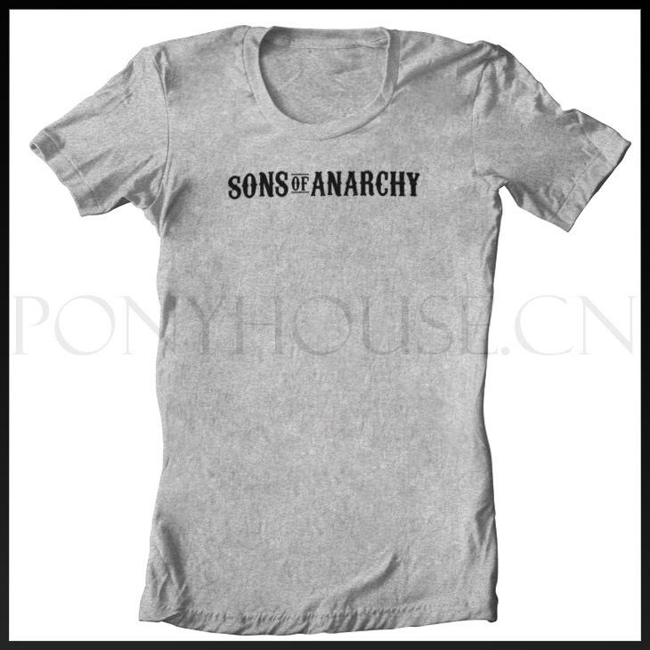 Anarchy Logo t Shirts of Anarchy Logo t Shirt Cotton Lycra Top 11085 Fashion Brand t Shirt Men