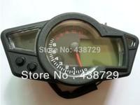11K RPM LCD Blue Backlight Digital Odometer Speedometer Tachometer Motorcycle