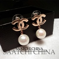 Fashion stud earring female accessories pearl small fashion e14540