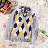 New Arrival British College Style Kids Sweaters  Fashion Trendy Coat Cotton Children Sweater  for boys and girls clothes