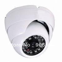 850TVL Vandal-proof IR Dome Camera with 1/3-inch CMOS