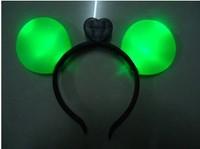 Free shipping 20pcs/lot LED mickey mouse headband,led Flashing headband for christmas,party supplier
