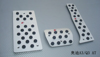 AT Aluminum Fuel Brake Foot Rest pedals/food pedal for A3  Q3 pedals/foot pedal