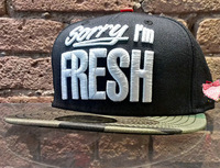 Im sorry fresh hat bboy hip-hop hat hiphop flat baseball cap adjustable hat
