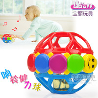 Boy and girl wholesale toys Polaroid bell ball baby bell grasping the ball baby rattle baby educational toys 0-1 year old 0.08