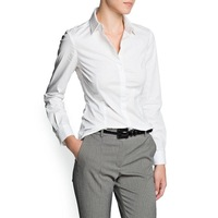 Mango2013 slim midsweet shirt 11023505
