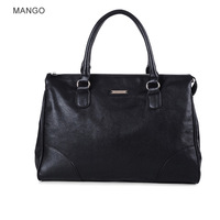Mango women's 2013 elegant handbag black bag handbag shoulder bag