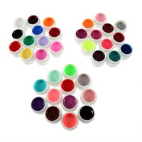 1 Set 36 Color Nail Art Glitter UV Gel Polish Soak Off Top Coat For Lamp Decoration Promotion