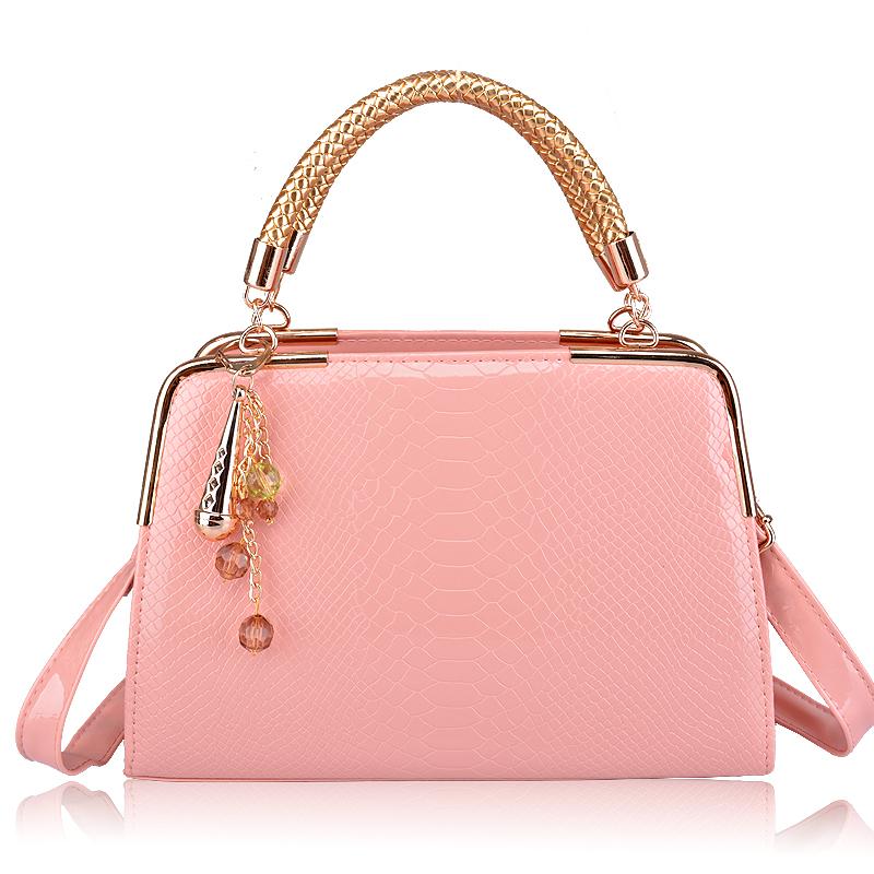 Women's handbag 2013 summer fashion crocodile pattern handbag cross-body bags large women's bag
