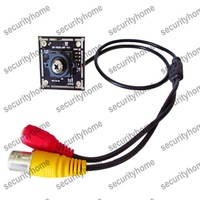 800TVL CMOS 8330+8510 3.7mm Screw/Button Lens Mini PCB CCTV Camera free shipping