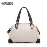 Women Leather Handbag  Coraldaisy  New 2013 Women bags Fashion Shoulder Bag Litchi stria handbag Leisure Bump Color Bag