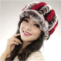 2013 edition thickening fur hat winter cap women's hat cap lady female