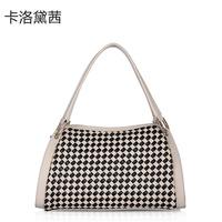 Women Leather Handbags  Coraldaisy  Bag  New 2013  Fashion Brand Totes Leisure Bump Color Bag Shoulder Bags  Cowhide  Handbag