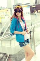 YY51 New Fashion Coat Lady Sexy Slim Autumn Coat Casual Outwear Sweater Sweatshirts Hoodies Girls Jackets Women