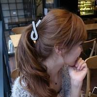 New arrival 2013 hair accessory hair accessory rhinestone clip on gripper banana clip hair clips