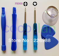 Free Shipping 7 in1 Repair Replace Opening Pry Tool Kit Screwdriver for iPhone 4 / iPhone 4S / iPhone 5  100set