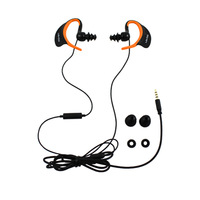 New Waterproof HiFi Earphones With Mic For iPod MP3 MP4 iPhone Smart Phone