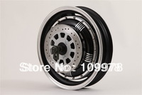 3000W 14inch Brushless Hub Motor for electric scooter/motorcycle