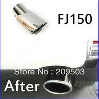 Exhaust Muffler Tip End Pipes Cover For Toyota Land Cruiser Prado FJ150 2010 2011
