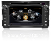 KIA Ceed 2010 2011 CAR radio taper recorder dvd gps navigation with wifi 3G phonebook RDS