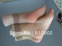 Wholesale EMS Free shipping sex doll Fake silicon women footfetish Feet foot fetish worship foot toys mold #360002