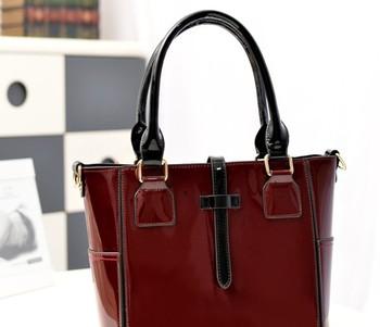 Wholesale!!! Patent leather Fashion Women's Bag Shoulder Bag New Arrival 2013 Drop Shipping Factory outlet