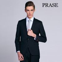 FREE SHIPPING Prase men's clothing 2013 autumn male commercial quality fashion blazer outerwear men's clothing