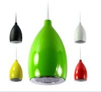 Led pendant lamp modern dining room lamp bar brief single head lamp bar lights hanging wire lighting