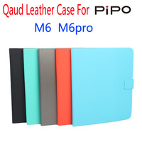 "New luxury stand original Ultra-thin slim Leather flip Case cover for pipo m6 pro 3G quad core 9.7"" tablet pc Free shipping"