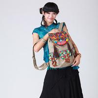 2014 new embroidered bag hemp  bodhi pompon hanging ear  big bags