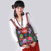 National 2013 trend hemp embroidered bag  messenger bag