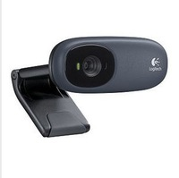 Logitech C110 Webcam Built-in microphone support tv box video call web camera