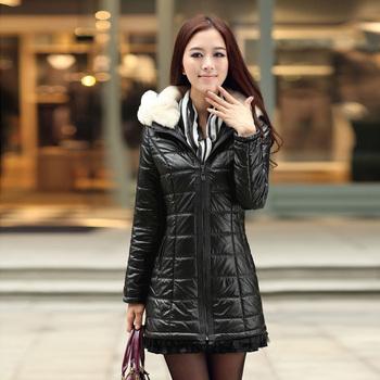 2013 new arrival winter women's wadded jacket elegant fashion slim zipper wadded jacket female 2232