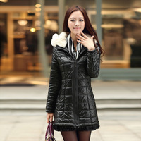 2013 new arrival winter women's wadded jacket elegant fashion slim zipper wadded jacket female 2232